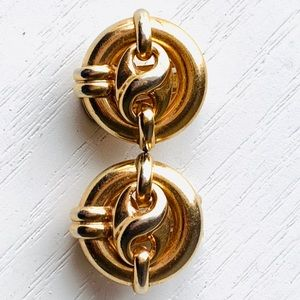 Nordstrom Jewelry - Nordstrom clip on gold earrings made in Italy